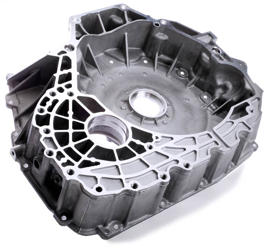 Aluminum die casting project: shell housing