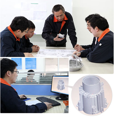 Ningbo Xusheng Machinery Engineering team