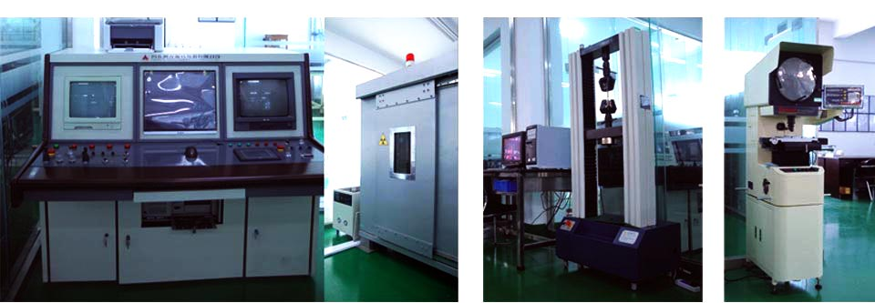 Quality Control testing at Ningbo Xusheng Machinery