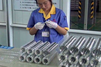 Inspection of die cast parts