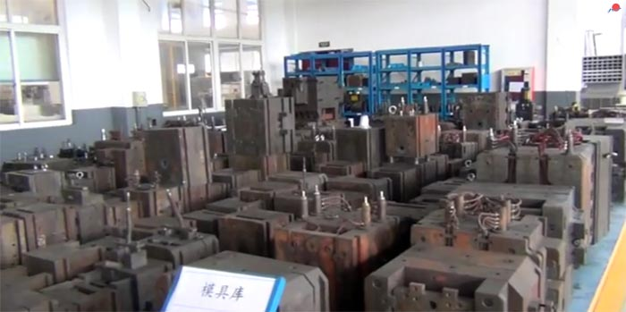 Dievar steel tool mold used for die casting in China