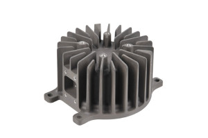 Cast aluminum heat sink
